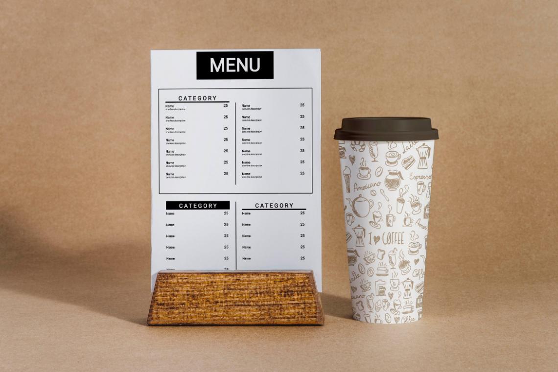Шаблон меню